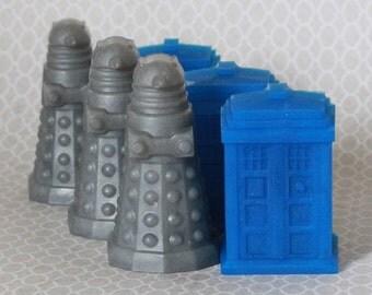 Dr Who Tardis & Dalek Inspired Soap Gift Set