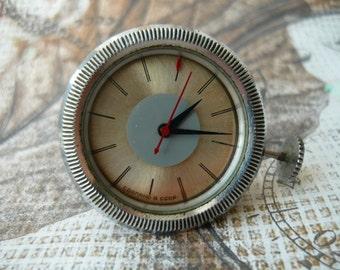 "196 ЧС/ Soviet Watch from radioreceiver ""Signal""/ Vintage watch – shiny face watch– soviet mechanical #181116"