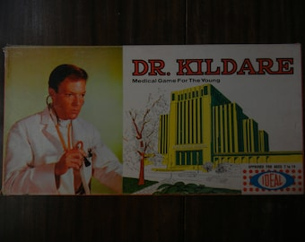 Dr. Kildare ~ Medical Game for the Young ~ 1962 ~ Ideal Toys