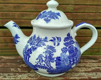 Blue Willow Pattern Etsy
