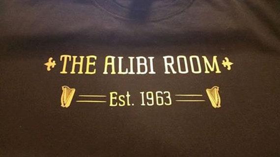 The Alibi Room Shirt Shameless TV Show Shirt Lip