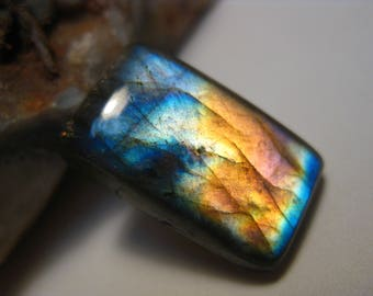 Rectangle Labradorite Cabochon