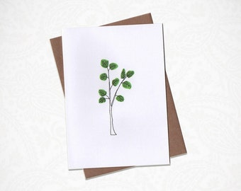 Little Tree Greeting Card