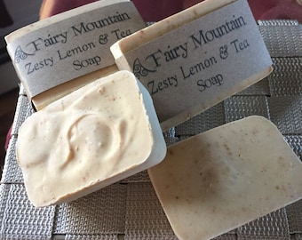 Zesty Lemon & Tea Soap