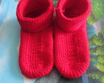 0579 Hand crochet slippers women shoe 11 men shoe 9.5