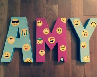 "8"" Custom Emoji Letters"
