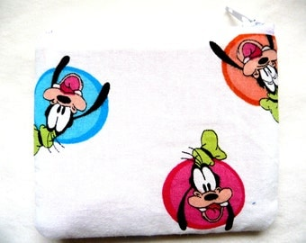 coin purse pouch made from cartoon fabric