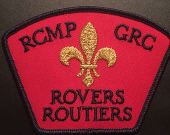 RCMP GRC Rovers Routiers Patch