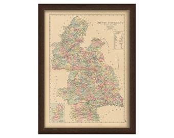 County Tipperary - Memorial Atlas of Ireland 1901