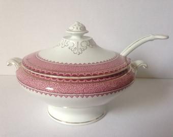 Tureen, Serving Bowl, Serving Dish, Ceramic Bowl, Ceramic Dinnerware, Dinnerware, Dinner Service, Princess, English China, Country Kitchen