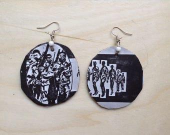 Soldiers Organic Earrings