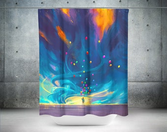 Art Shower Curtain | Art Bath Curtain | Art Bath Décor | Art Bathroom Décor | Art Bathroom | Art Shower | Art Bathroom Décor