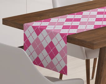 Pink Table Linen | Pink Linen | Pink Table Décor | Pink Runner | Pink Table Runner | Pink Décor | Pink Table Topper