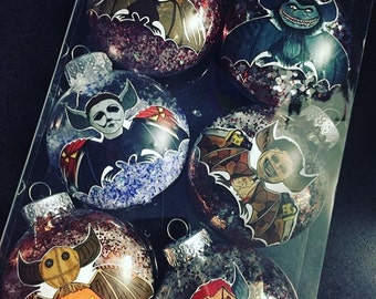 Creatures of the Fright Christmas Ornaments