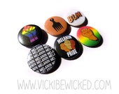 Black Pride, Social Movement 1 Inch Pinback Buttons