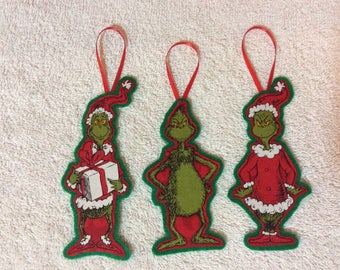 Grinch Christmas Ornaments-How the Grinch Stole Christmas!