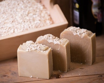 Beer Soap - Certified 100% Natural Pure Vegan Handmade Soap (Cold Process)