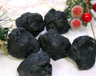 Lump Of Coal Soap - Stocking Stuffer - Charcoal Soap - Gag Gift - Black Soap - Christmas Gift - Gift for Kids - Gift under 10 - Black Coal