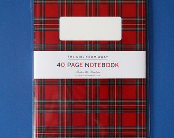Royal Stewart Tartan Notebook