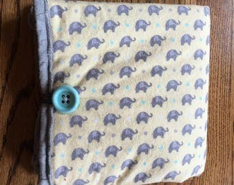 Travel Changing Pad, Diaper Changing Pad, Diaper Clutch, Baby Gift- ELEPHANTS
