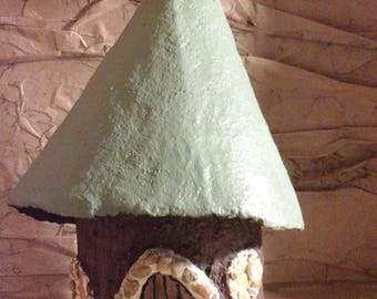 Fairy House with Green Roof