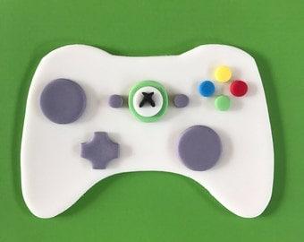 Xbox Controller Cake Topper-Fondant
