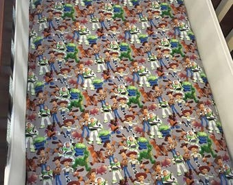 Toy story cot fitted sheet