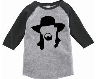 The Undertaker Wrestling Baby Gift Raglan Tee WWE WWF
