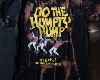 Destroyed Digital Underground T-shirt in Adult Large