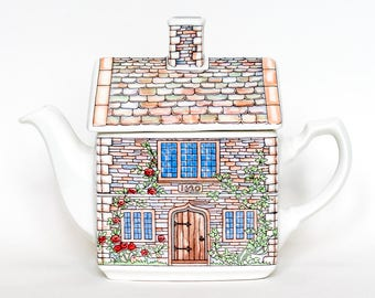Sadler Ornamental Teapot - English Country Houses
