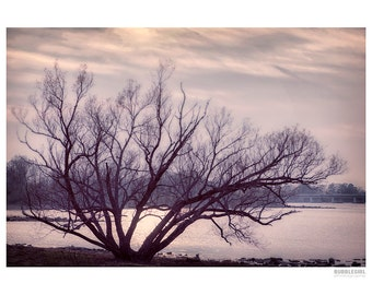 Landscape Photography PRINT, Sunset on the River - 2, Wall Art