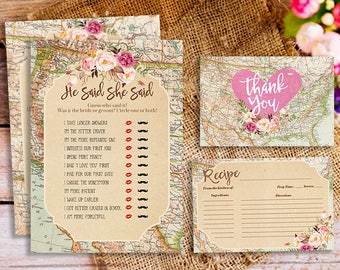 Wedding traditions around the world bridal shower game