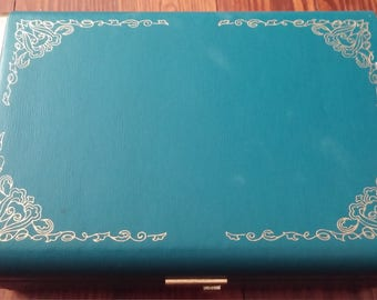 Teal Farrington Jewelry Box