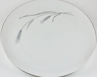 Vintage Johann Haviland Silver Wheat, Dinner Plate