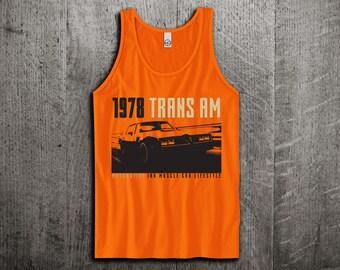 Pontiac Transam Tank Top, fire bird t shirts, pontiac shirts, cars tanks, Muscle car t shirts, trans am Unisex Tank top by Motomotiveink