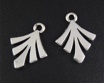 30pcs Antique Silver Tree Charms Pendant A2074