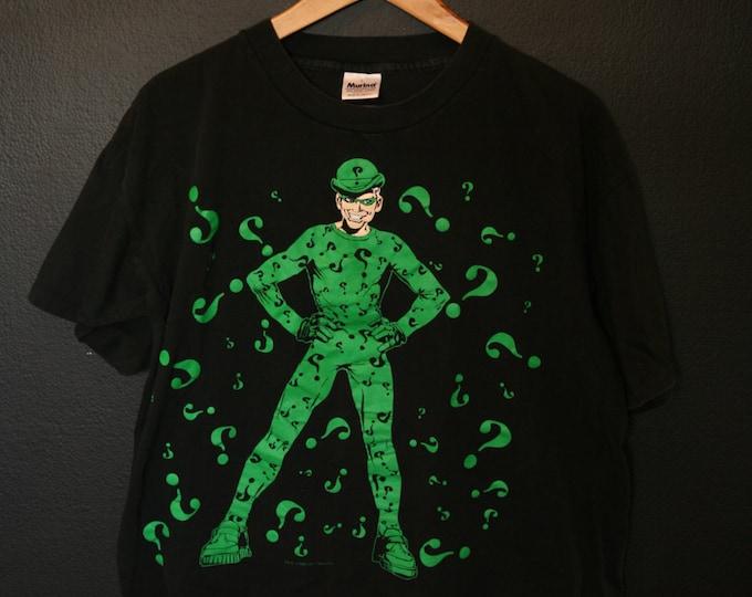Batman The Riddler 1995 vintage Tshirt