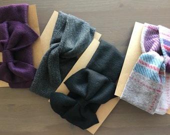 Ear Warmer, Bow Ear Warmer, Baby Ear Warmer