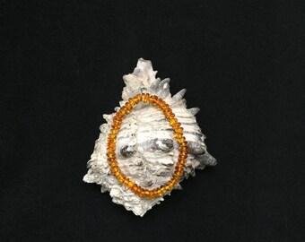 Caramel-colored Polished Amber Beaded Bracelet