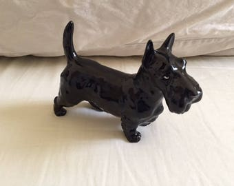 Vintage Takahashi Japan Scottish Terrier Figurine