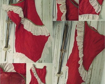 Vintage circus costume, size XS, teen, handmade, not perfect....CHARMANT!