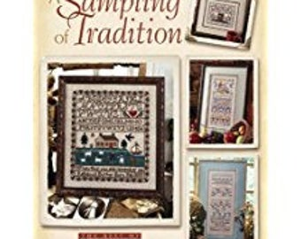 Cross Stitch A SAMPLING Of TRADITION  Christian Themed 9 Patterns