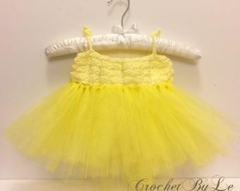 Crochet Baby Tutu Dress