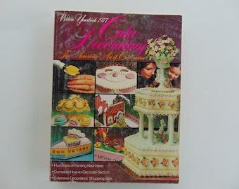 Wilton Yearbook 1977 Cake Decorating
