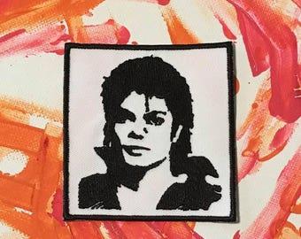 Michael Jackson patch, MJ, Thriller, King of Pop, Billie Jean, Jackson Five, music patch, thriller patch, gift under 10, moonwalker