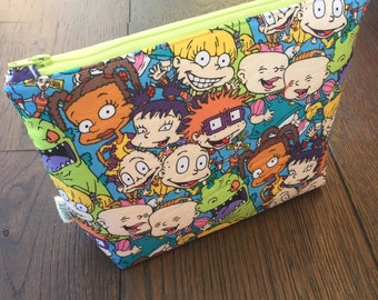 Rugrats Waterproof Toiletry Bag