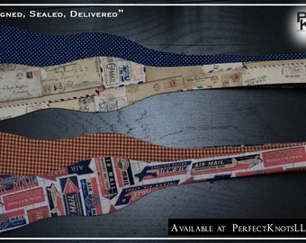 "PK's ""Signed, Sealed, Delivered"" Freestyle Bow Ties"