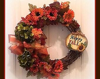 Fall Wreath grapevine