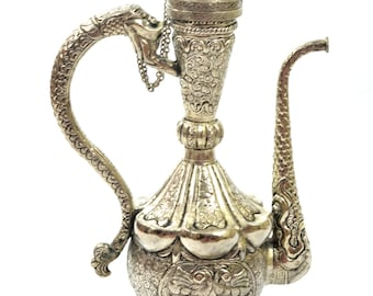 German Silver Decorative Jug