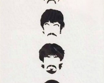 UNFRAMED - Beatles // gifts for her // gifts for him // home decor // music // wall art